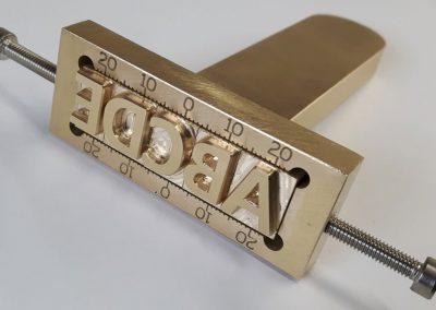 alphabet stamp tool ABCDE